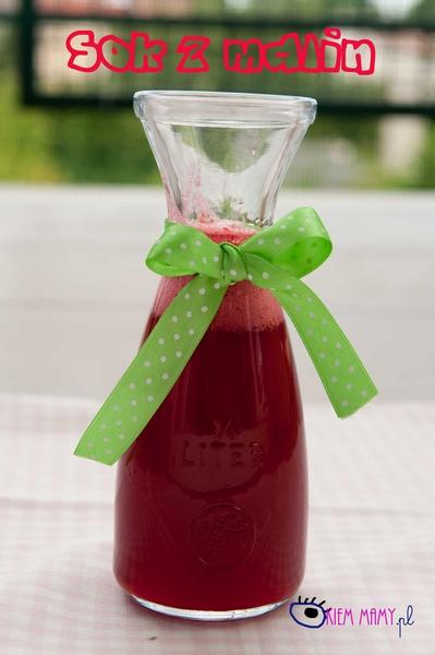 sok malinowy dla dzieci