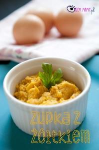 Zupka z żółtkiem dla niemowlaka