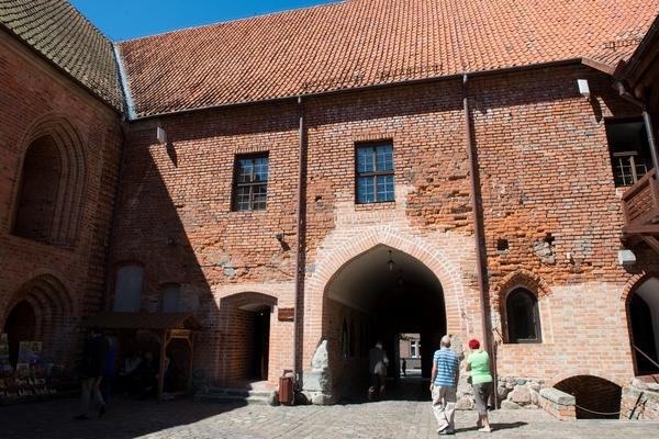 zamek krzyżacki Ostróda