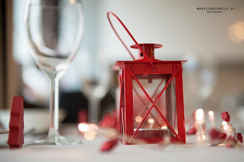 czerwona latarenka