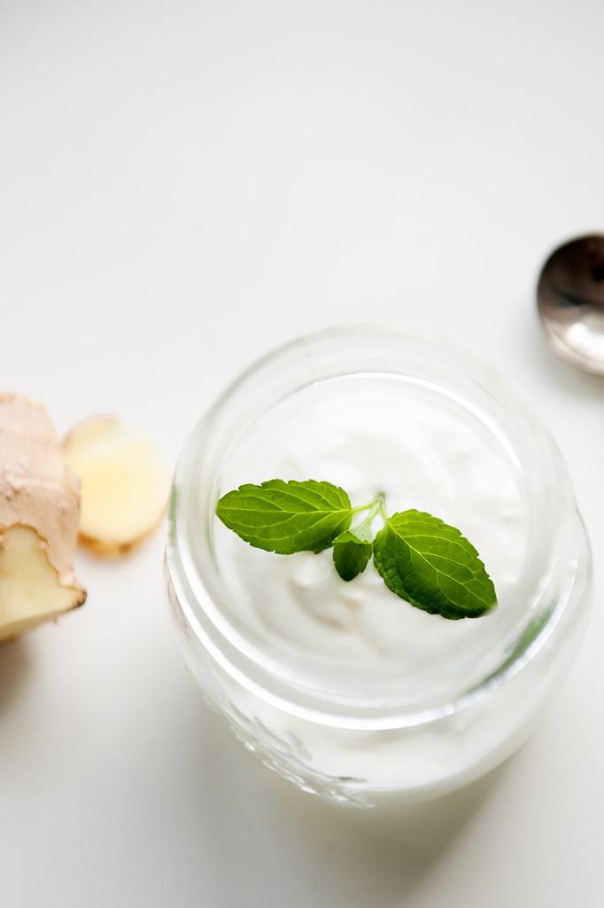 jogurt imbirowy