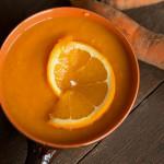 Krem z marchwi z pomarańczową nutą