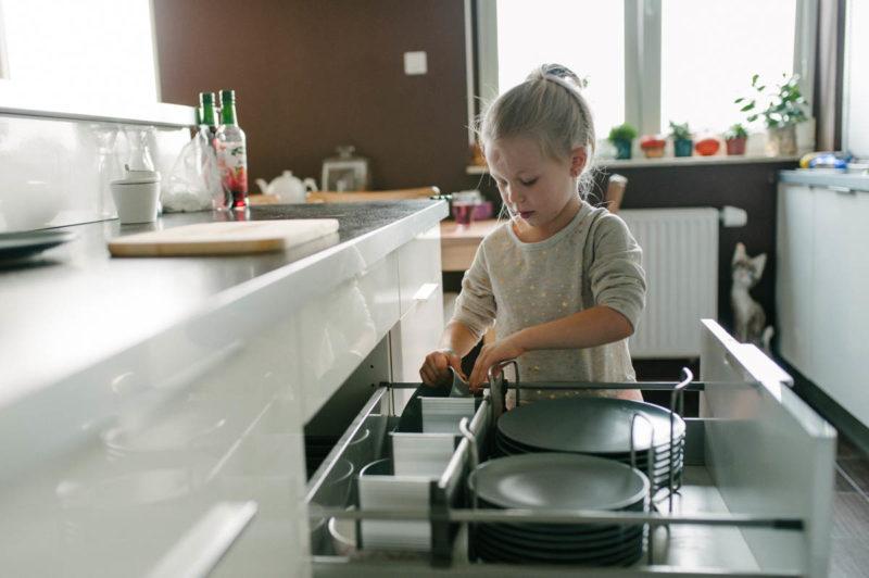 dzieci gotują