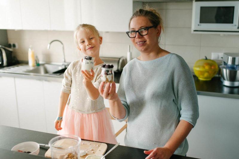 gotowanie razem z mamą